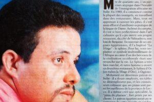 MOHAMED GHONIM Le sphienx de Lombardie