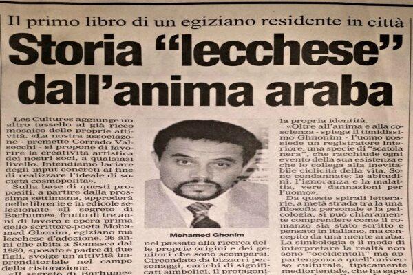 """Storia """"lecchese"""" dell'anima araba"""