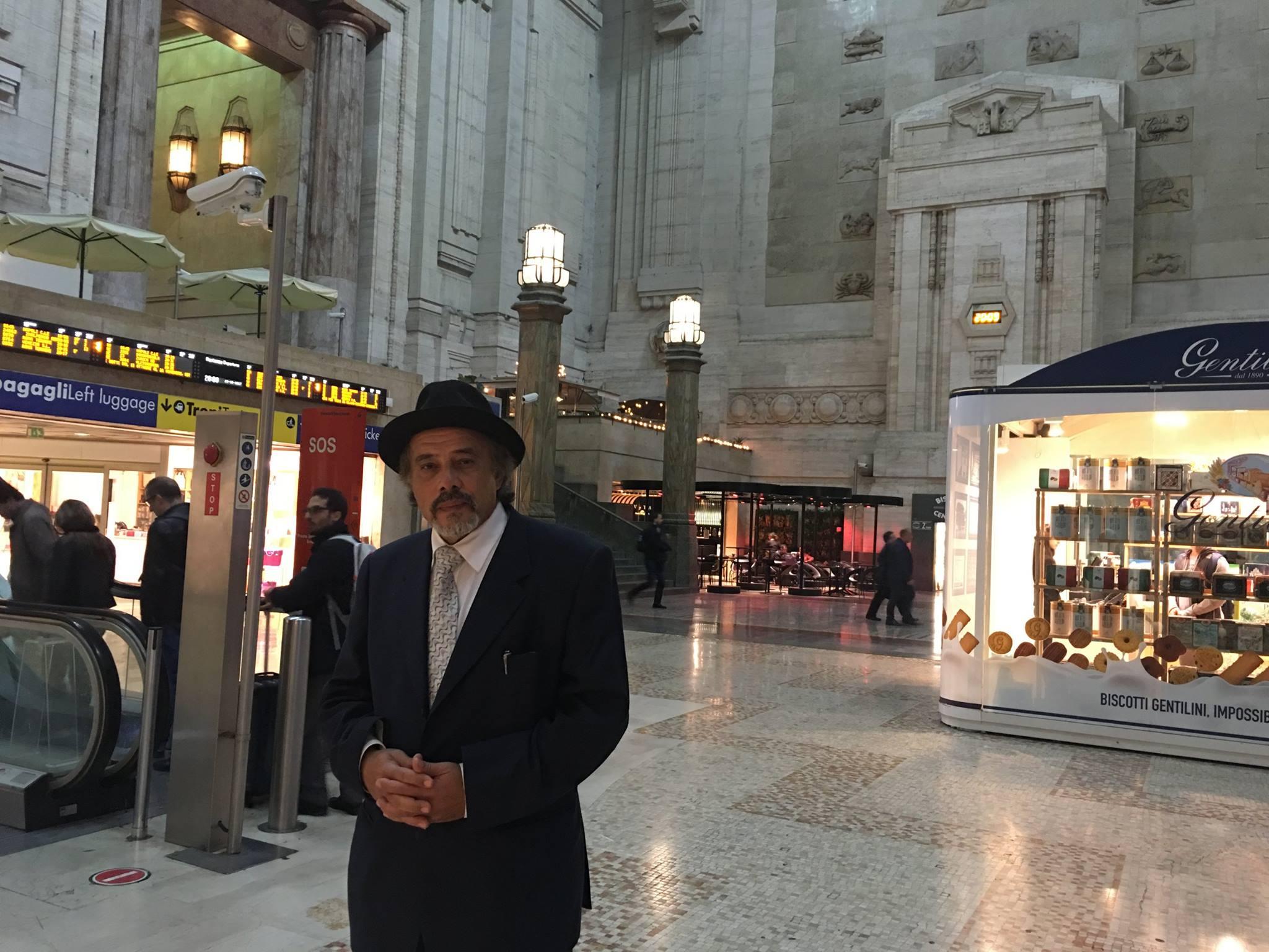 Ghonim in viaggio