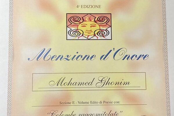 Menzione d'onore
